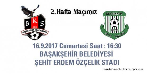 2.Hafta Maçımız Başakşehir' de